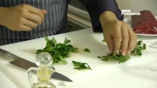 Tu cocina - Filete de res con chimichurri de cilantro