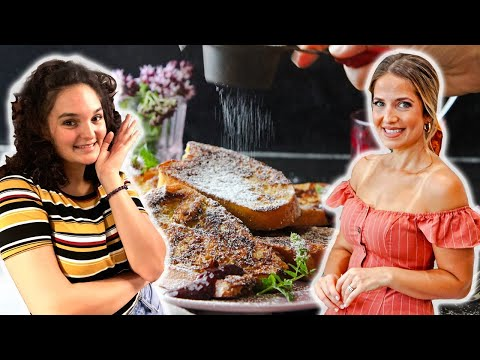 LIVE: Breakfast for Dinner w/ My Little Sister!