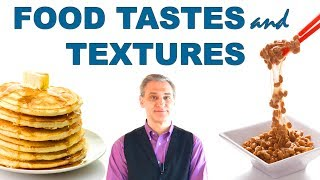 English Conversation Practice - Food Tastes and Textures