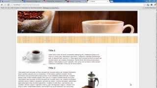 Create a website with PHP - Part 1 Templates