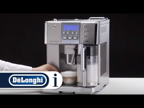 How to Make a Cappuccino in Your De'Longhi PrimaDonna ESAM 6620 Coffee Machine