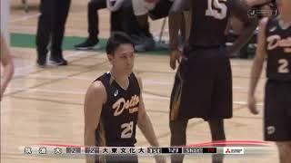 2018大学バスケ 準決勝 筑波大 vs 大東文化大 第1Q