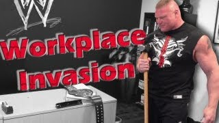 Heyman reveals footage of Lesnar's workplace invasion at WWE headquarters: Raw, May 6, 2013