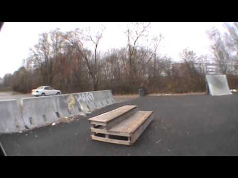 Crane Skatepark Walkthrough