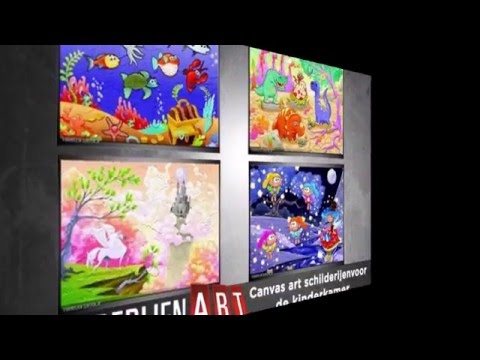 Foto glasschilderijen voor de kinderkamer