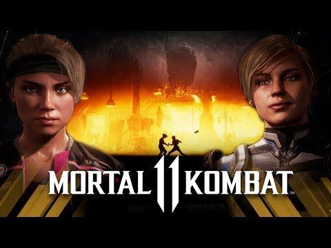 Mortal Kombat 11 - Sonya Vs Cassie Cage (Very Hard)