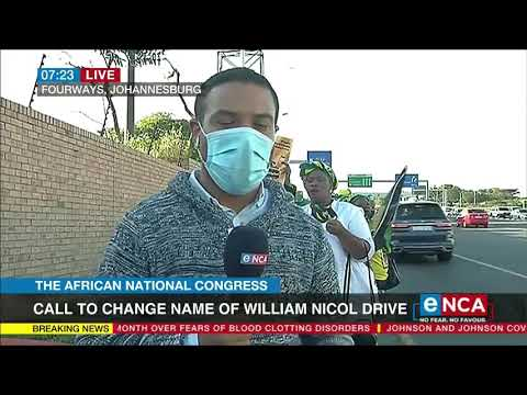 Call to change name of William Nicol Drive