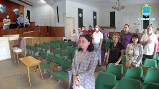 Засідання позачергової 17-ї сесії Світловодської міської ради 27.08.21