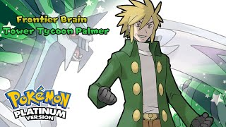 Pokemon Platinum - Battle! Frontier Brain Music (HQ)