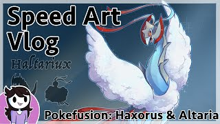 SpeedArt Vlog: Pokefusion Haltariux