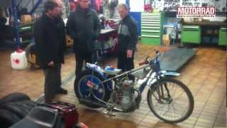 preview picture of video 'Besuch bei Motorrad-Legende Karl Maier'