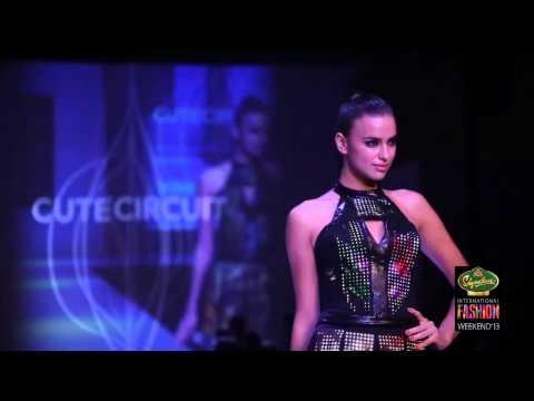 CUTE CIRCUIT Fashion show at #SIFW