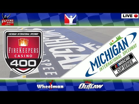 NASCAR Live: Firekeepers Casino 400: Michigan: iRacing: Flying Aces: 6 August 2020