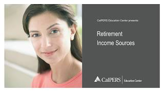 Retirement Income Sources