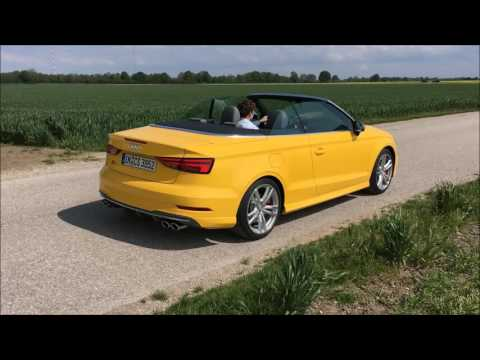 Soundcheck Audi S3 Cabrio Facelift 2016