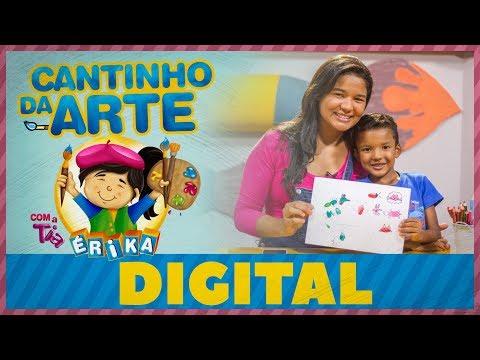 Digital | Cantinho da Arte com a Tia Érika