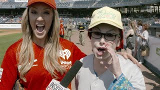 Inside Edition's Megan Alexander Takes the Field With Naomi Judd, Jay Cutler