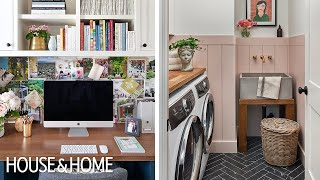 Makeover: 4 Small Forgotten Spaces Made Functional
