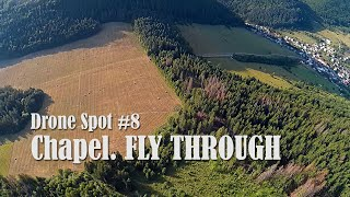 Drone spot #8 - Brodno chapel. Fly through. #fpv #fpvdrone #fpvfreestyle