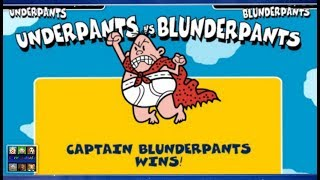 The Captain Underpants: Underpants Vs Blunderpants - Two Player