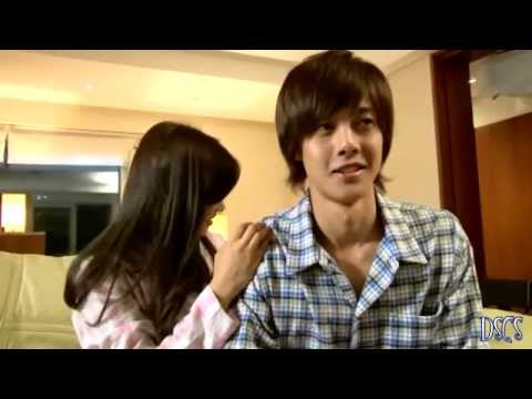 BEHIND THE SCENE Playful Kiss[Hyun Joong & So Min] Ha Ni Massaging Seung Jo .webm