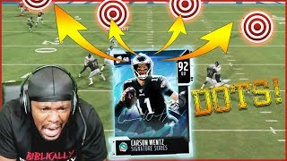 92 Signature Wentz Throwing DOTS In My Ultimate Team Return! (Madden 20 Ultimate Team)