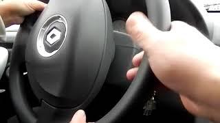 Уроки вождения на механике с пожилым и довольно интересным новичком.