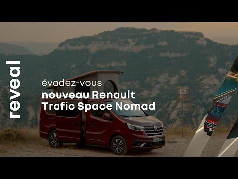 Musique publicité  Renault dévoile |  Trafic Espace Nomad    Juillet 2021
