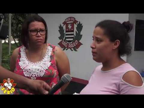 Jéssica mãe do garoto Bryan em entrevista para o jornal do Sbt