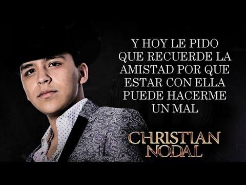Letra Tranquila Soledad Christian Nodal