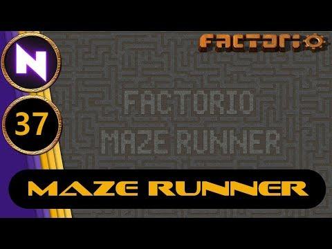 Factorio 0.17 Maze Runner #37 URANIUM PROCESSING OUTPOST