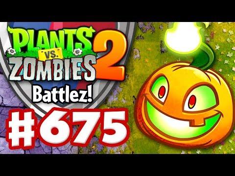 Battlez! Jack O' Lantern Epic Quest! - Plants vs. Zombies 2 - Gameplay Walkthrough Part 675