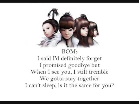 2ne1 - Stay Together [English Lyrics]