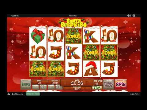 Santa Surprise Slot by PlayTech play free