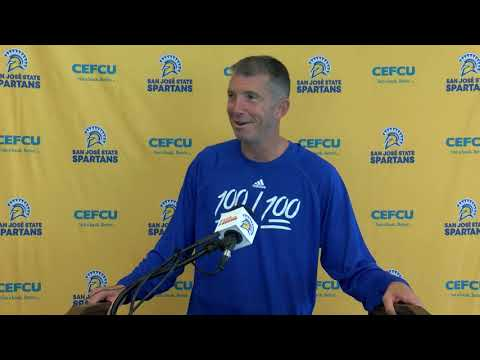 San Jose State Weekly Football Press Conference 10-7-19
