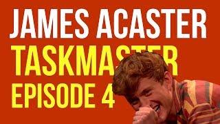 James Acaster on Taskmaster Episode 4