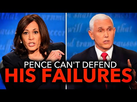 Kamala Harris Pummels Mike Pence on Trump Admin's COVID-19 Bungling