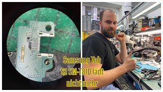 Samsung Tab S2 - SM-T810 lädt nicht mehr und erkennt kein Ladekabel mehr - Andi repariert