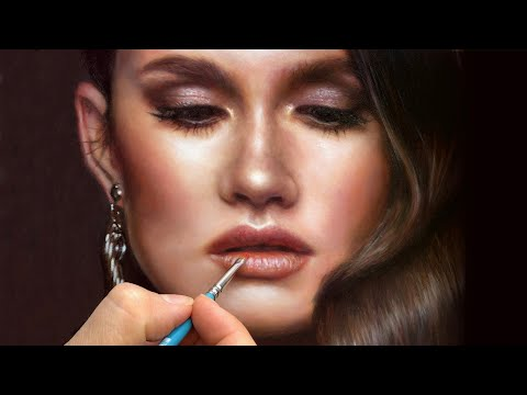 realistic oil painting step by step tutorial by isabelle richard