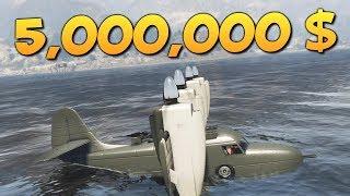 GTA ONLINE - КУПИЛИ САМОЛЕТ ЗА 5000000$ #329