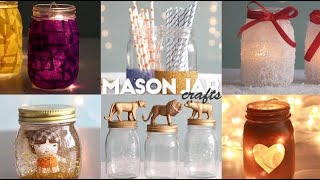 Easy Mason Jar Crafts