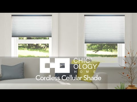 Video for Morning Mist 38 x 48 In. Cordless Cellular Shades