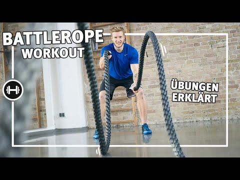 Battle Rope Workout | Übungen & Workouts | Sport-Thieme
