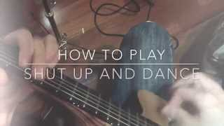 Shut up and dance with me guitar Tutorial Chords Guitarra acordes