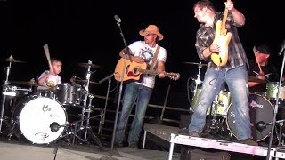 You Shook Me All Night Long - LIVE (5 year old Drummer) Avery Drummer Molek & Chris Higbee