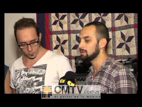 Carajo video Entrevista CM Rock - Sala de ensayo 2012