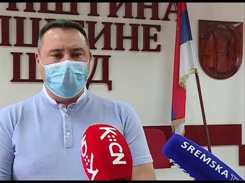Zoran Semenović - Epidemiološka situacija u opštini Šid