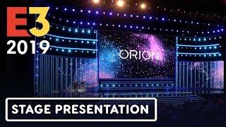 Bethesda's New Streaming Technology 'Orion' Full Presentation – E3 2019