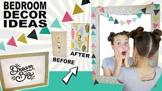 Glam Paper Crafts | DIY Room Decor Ideas | Light Switch Covers & Garland