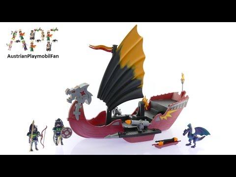 Vidéo PLAYMOBIL Dragons 5481 : Vaisseau d`attaque du Dragon